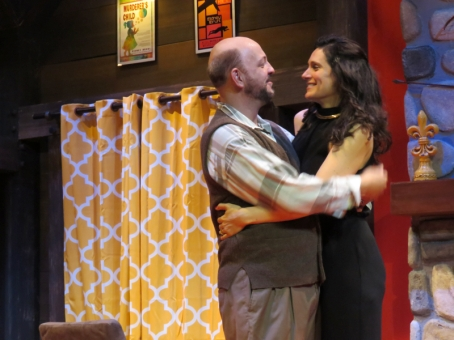 Deathtrap at Winnipesaukee Playhouse (dir. Marta Rainer)
