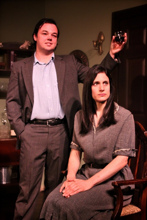Agatha Christie's 'Towards Zero' at The Theater Barn (photo: Sarah Kozma Photography)
