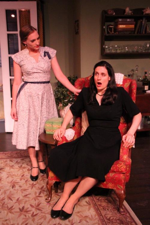 Agatha Christie's 'Towards Zero' at The Theater Barn (photo: Sarah Kozma Photography)