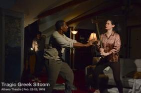 Tragic Greek Sitcom (Athena Theatre at Episcopal Actors' Guild)
