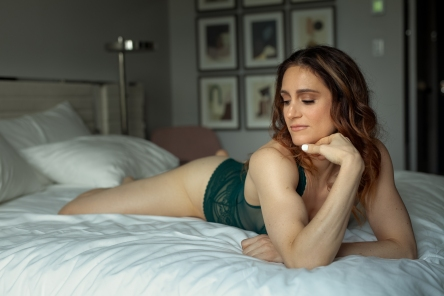 On bed